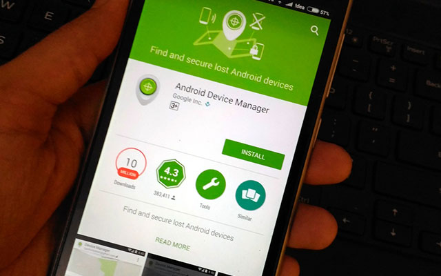 Reset dengan Android Device Manager
