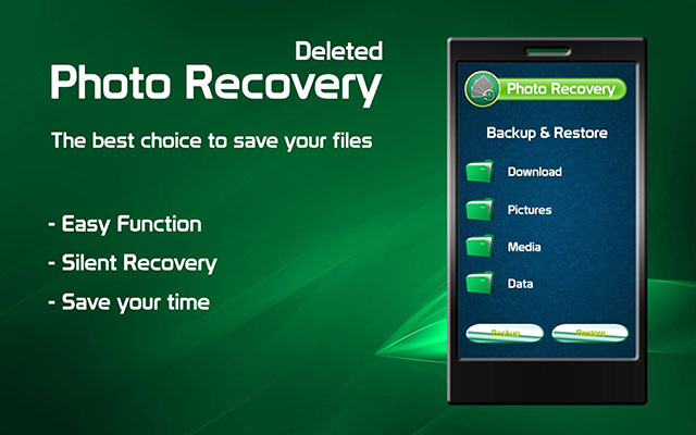 Memakai Aplikasi Delete Photo Recovery Free