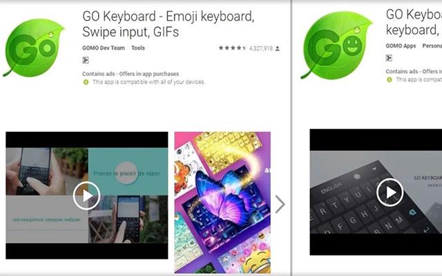 Menggunakan Aplikasi Go Keyboard