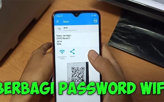 Menggunakan Wifi Barcode