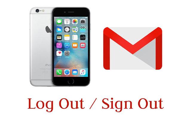 Cara Log out Akun Gmail Di HP iPhone