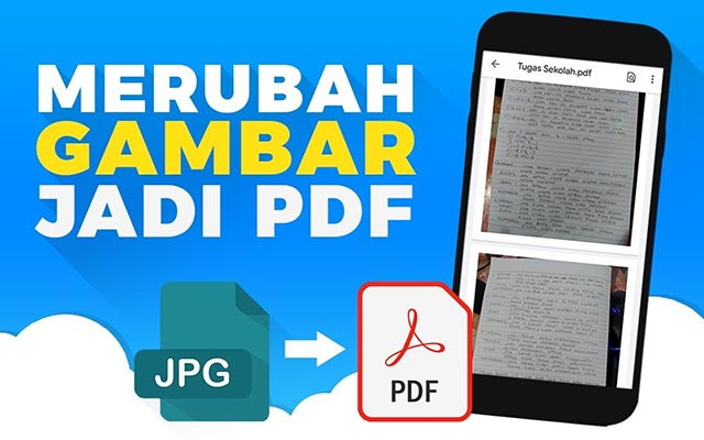 Cara Membuat File PDF dari File Gambar