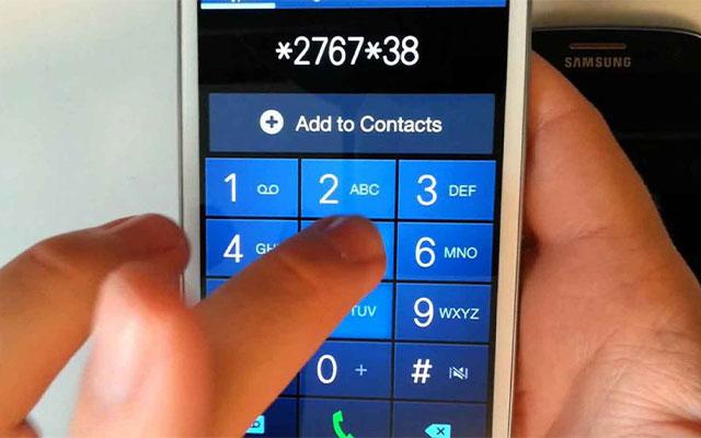 Cara Reset HP Samsung Dengan Kode Rahasia