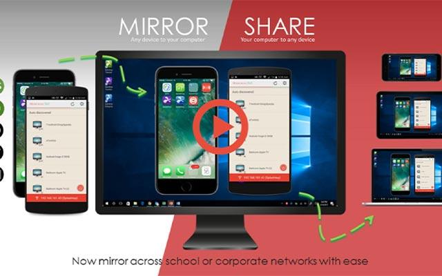 Menggunakan Screen Mirror