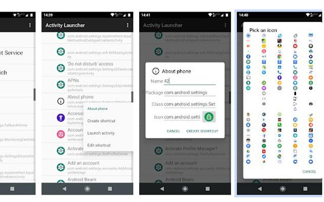Menghapus Aplikasi Bawaan Xiaomi Dengan Activity Launcher