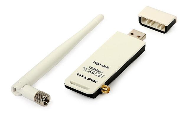 Menyambungkan Hotspot Menggunakan Wireless USB Adapter