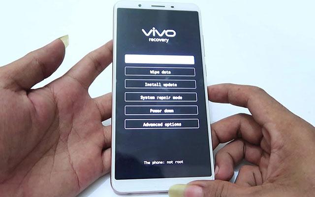 Cara Mereset Smartphone Vivo