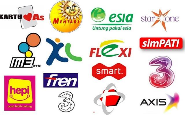 Menggunakan Nomor Provider Indonesia