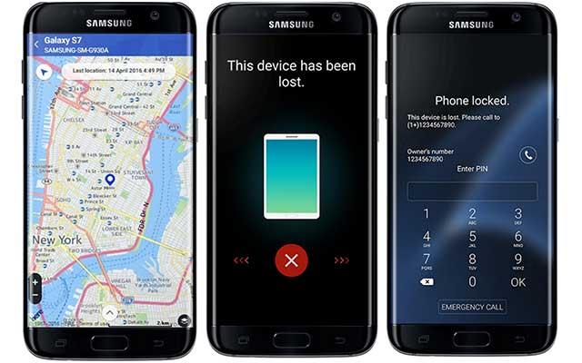 Menggunakan Samsung Find My Mobile