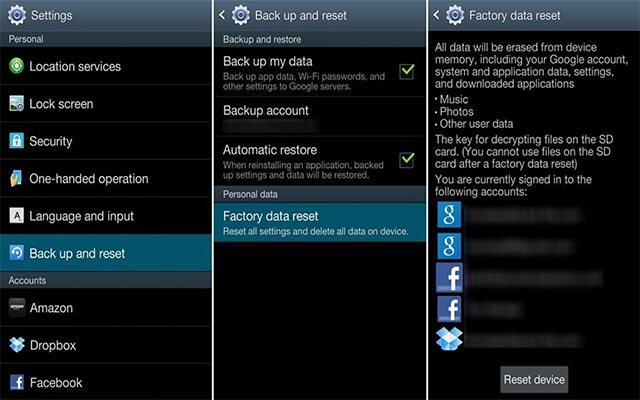 Cara Factory Reset Samsung J2 Prime