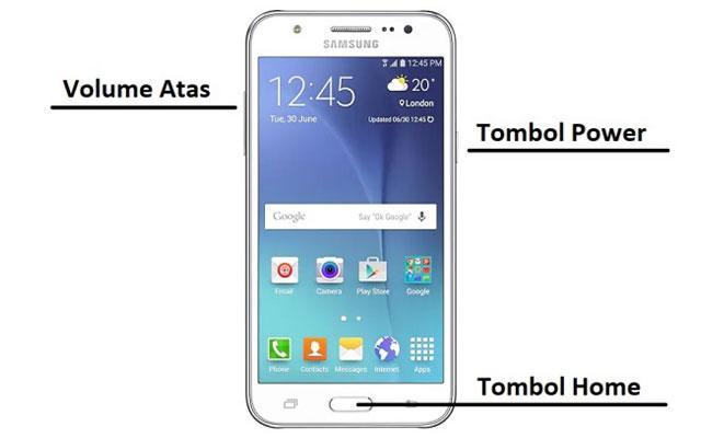 Cara Hard Reset Samsung J5