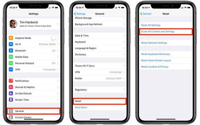 Cara Soft Reset iPhone Melalui Menu Pengaturan