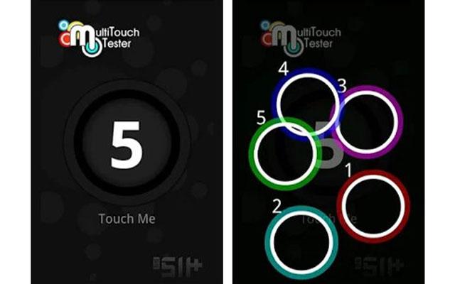 Cek Touchscreen Dengan Aplikasi Multi Touch Test