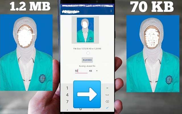 Manfaat Mengecilkan MB Foto di HP