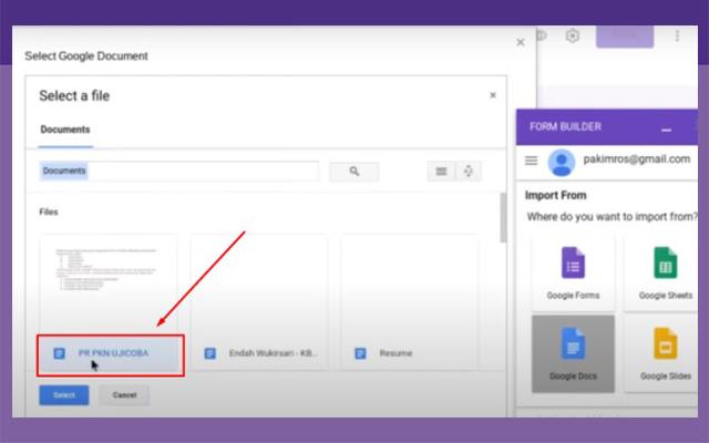 Silahkan buka file soal kemudian silahkan tunggu hingga prosesnya selesai.