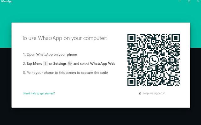 Cara Login ke WhatsApp Web