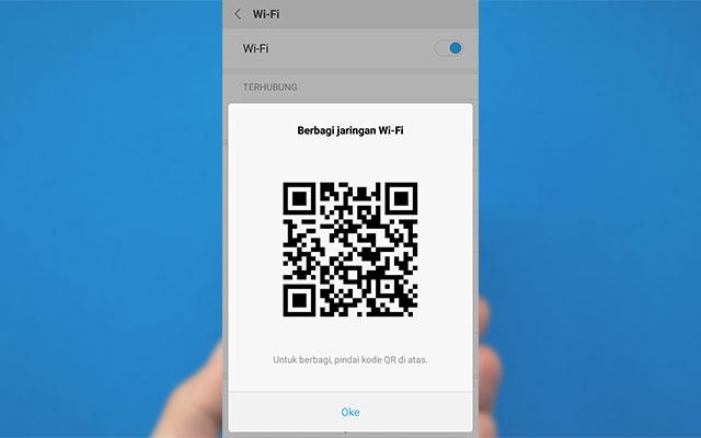 Cara Melihat Kode QR Wifi di HP Vivo