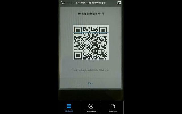Cara Scan Barcode Wifi di HP Vivo