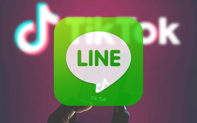 Buat TikTok Lewat LINE