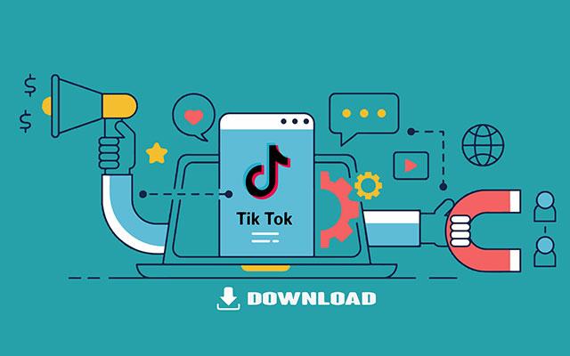 Cara Download Video TikTok Lewat Snaptik Paling Mudah
