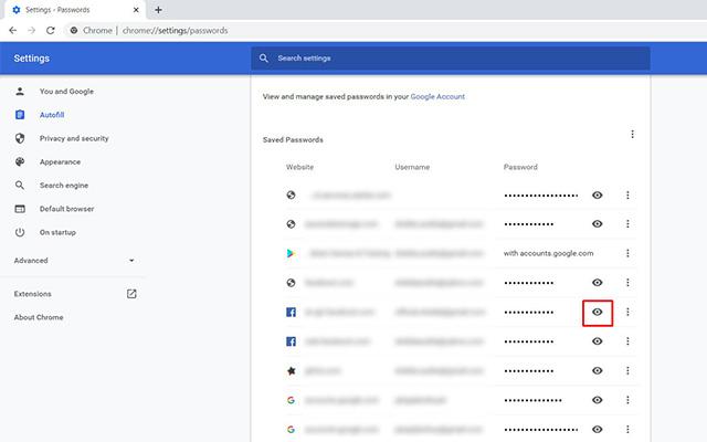 Cara Melihat Kata Sandi Facebook via Chrome