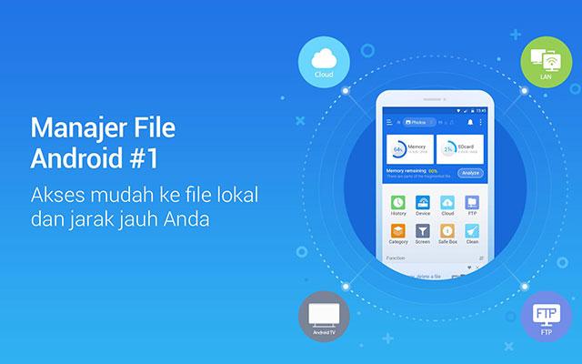 Install Aplikasi Es File Manager