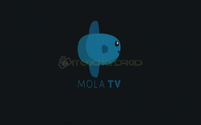 Setelah download selesai dan aplikasi telah terpasang di Usee TV silahkan buka aplikasi Mola TV