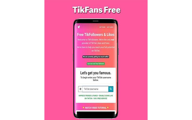 Aplikasi TikFans