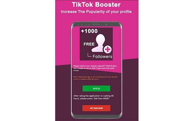 Aplikasi TikTokBooster