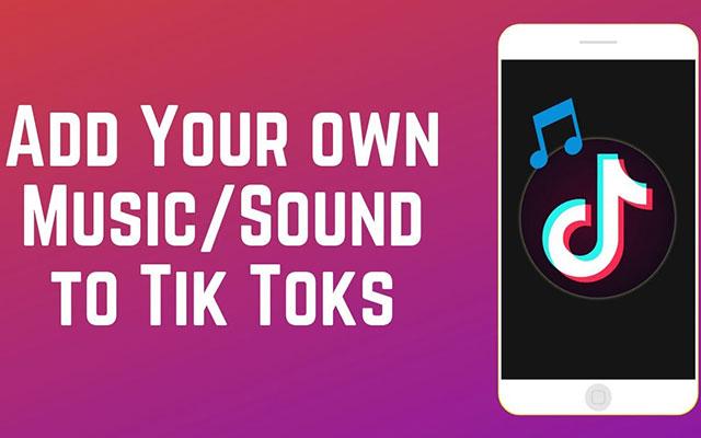 Cara Menambahkan Musik Sendiri di TikTok