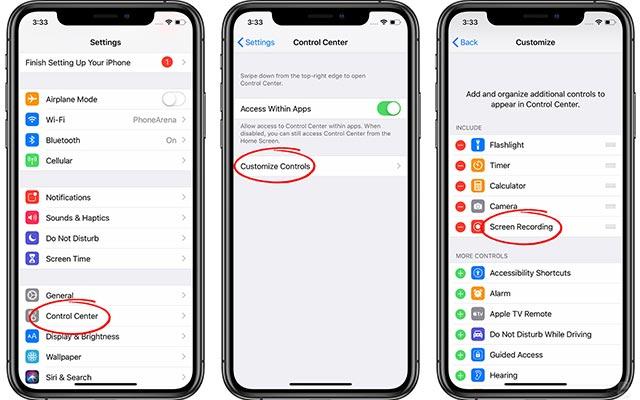 Cara Merekam Layar iPhone
