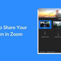 Cara Share Screen di Zoom Lewat HP dan Laptop