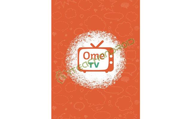 Langkah pertama silahkan buka aplikasi Ome TV yang sebelumnya telah kamu install