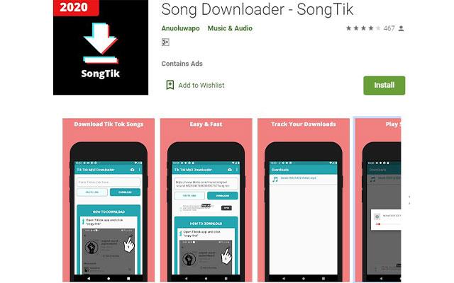 Menggunakan Aplikasi Download Video From TikTok