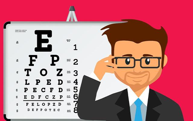 Eye Vision Boards Check Tests