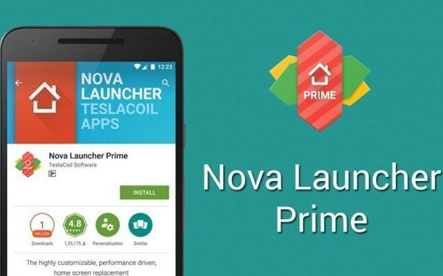 Gunakan Nova Launcher