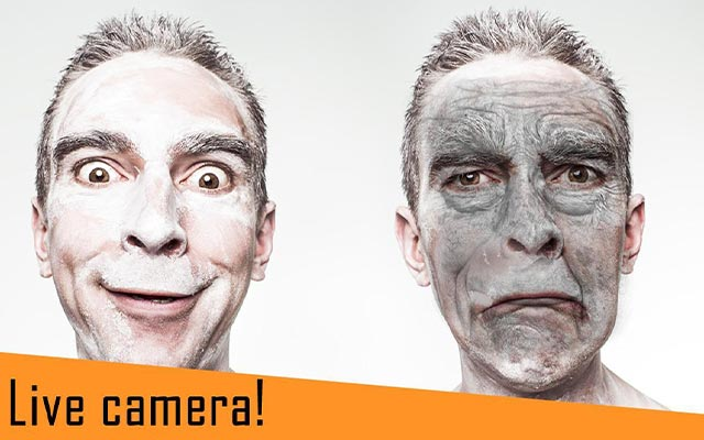 Old Face Camera Funny masks