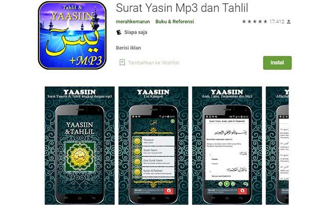 Surat Yasin MP3 dan Tahlil