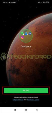 Buka Aplikasi Dual Space