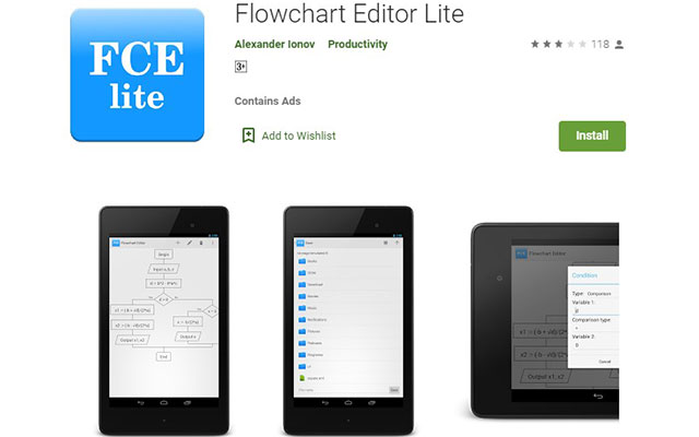 Flowchart Editor Lite