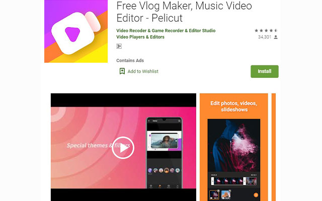 Free Vlog Maker Music Video Editor