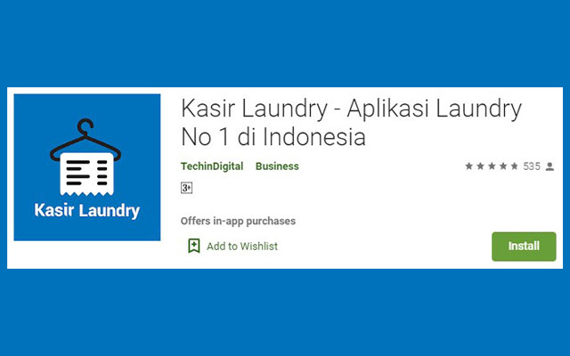 Kasir Laundry