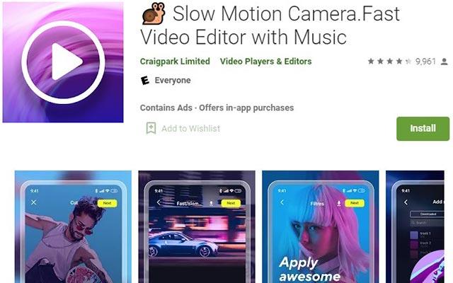 Slow Motion Camera