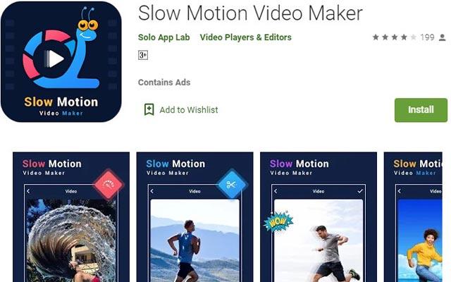 Slow Motion Video Maker