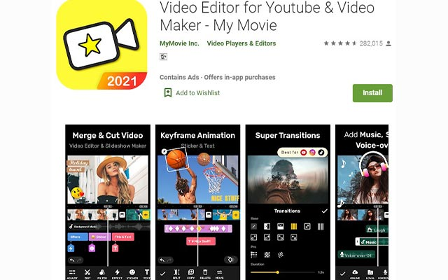 Video Editor for Youtube Video Maker
