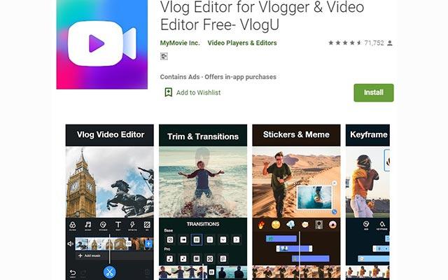 Vlog Editor for Vlogger Video Editor Free