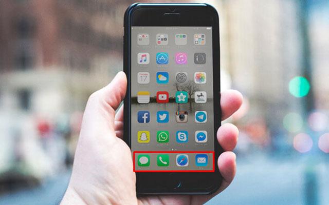 1. Letakan Aplikasi Sering Digunakan Dilayar Utama
