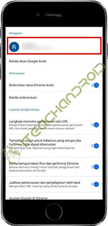 3. Tekan Pada Gmail