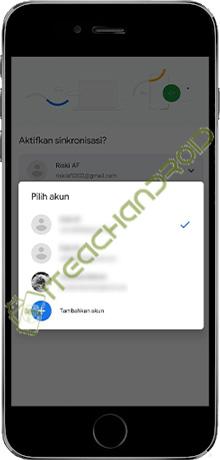 4. Tambahkan Akun Google Chrome Baru