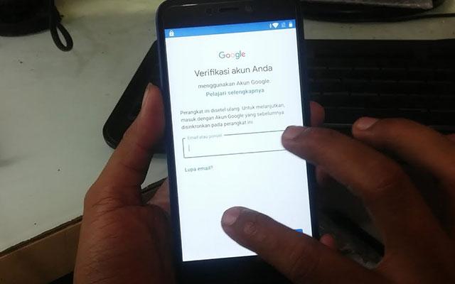 Cara Melewati Verifikasi Akun Google Xiaomi Redmi 4A